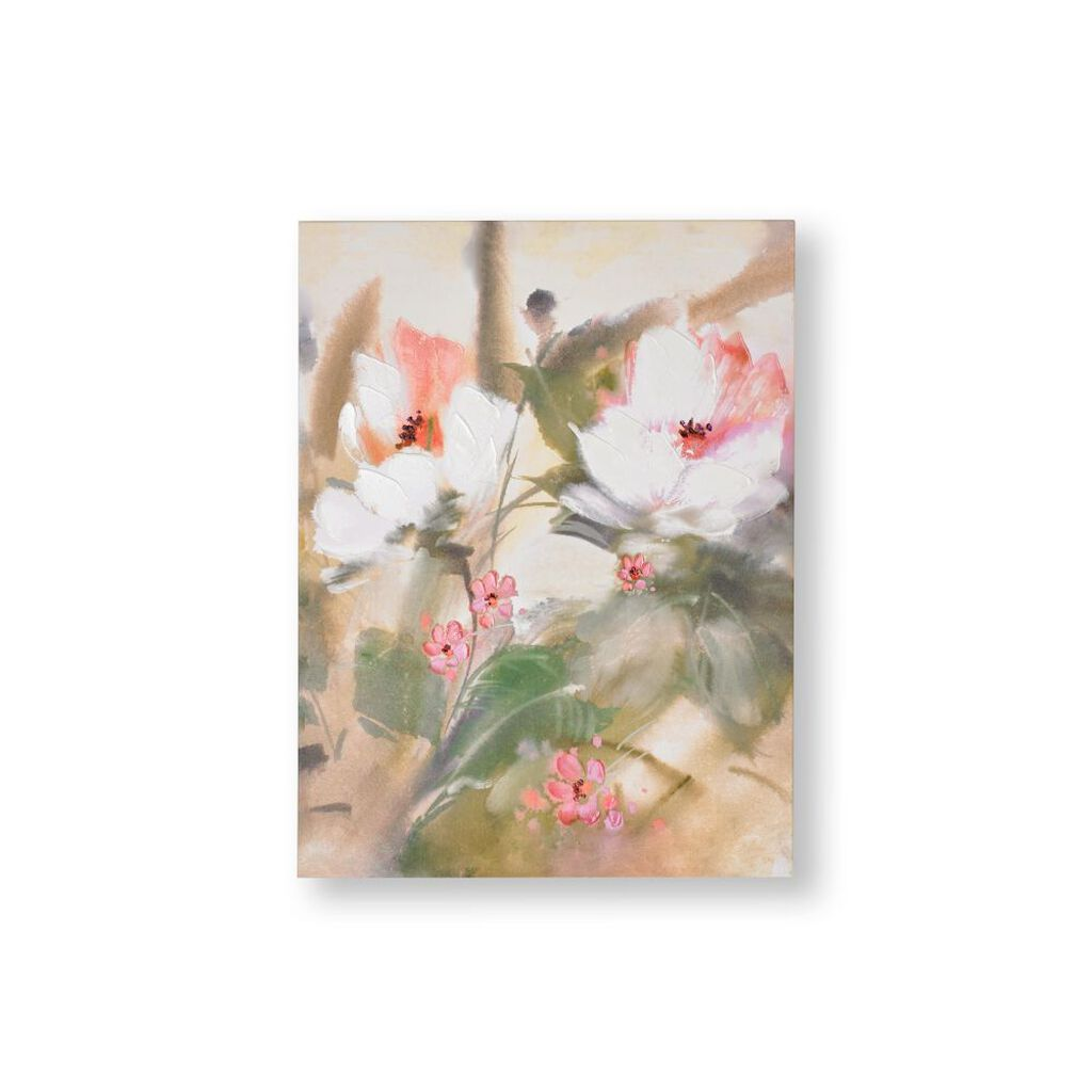 Tropical Blooms Canvas Wall Art, , large