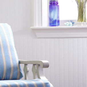 Beadboard Pre Pasted Wallpaper White Wallpaper Wall Doctor