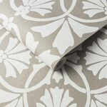 Thrones Chalk & Taupe Wallpaper