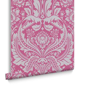 Desire Pink Behang, , large