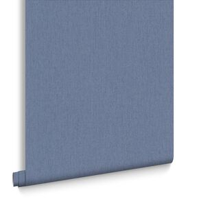 Calico Denim Wallpaper, , large