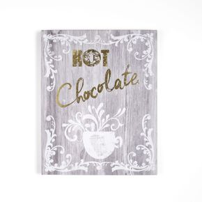 Hot Chocolate Wall Art, , large