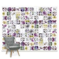 Couture Botanical Origami Ready Made Mural, , large