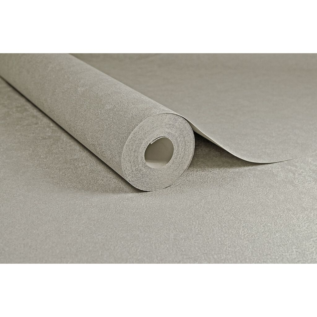 Dynasty Plain Tapete Taupe, , large