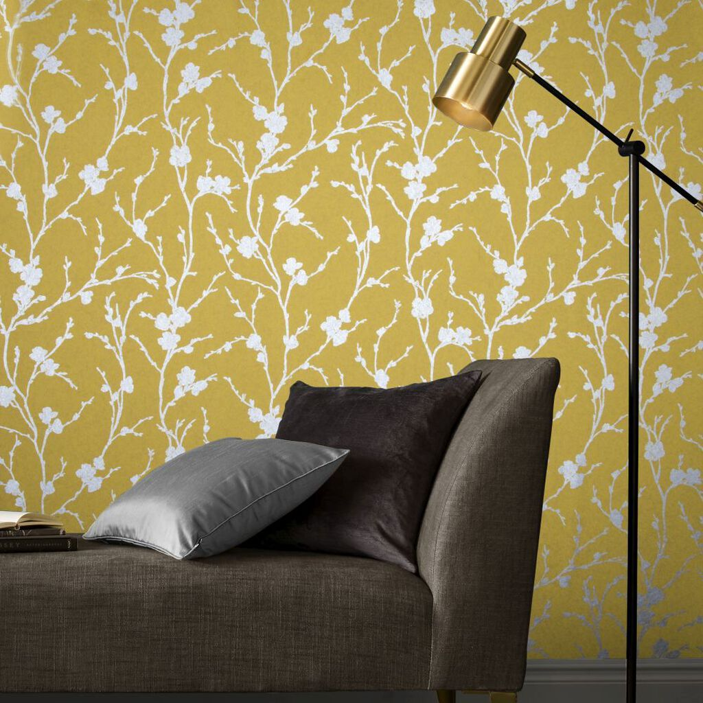 Meiying Saffron Wallpaper, , large
