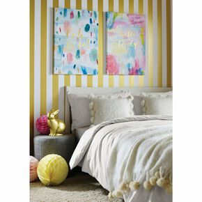 Ooh La La Printed Canvas Wall Art , , large
