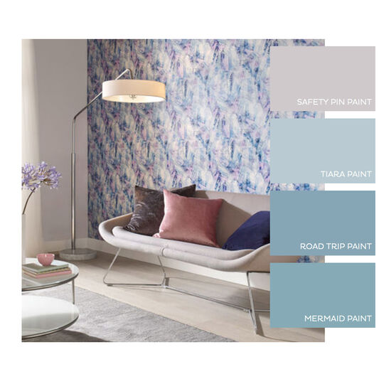 Aura Aquamarine Wallpaper, , large