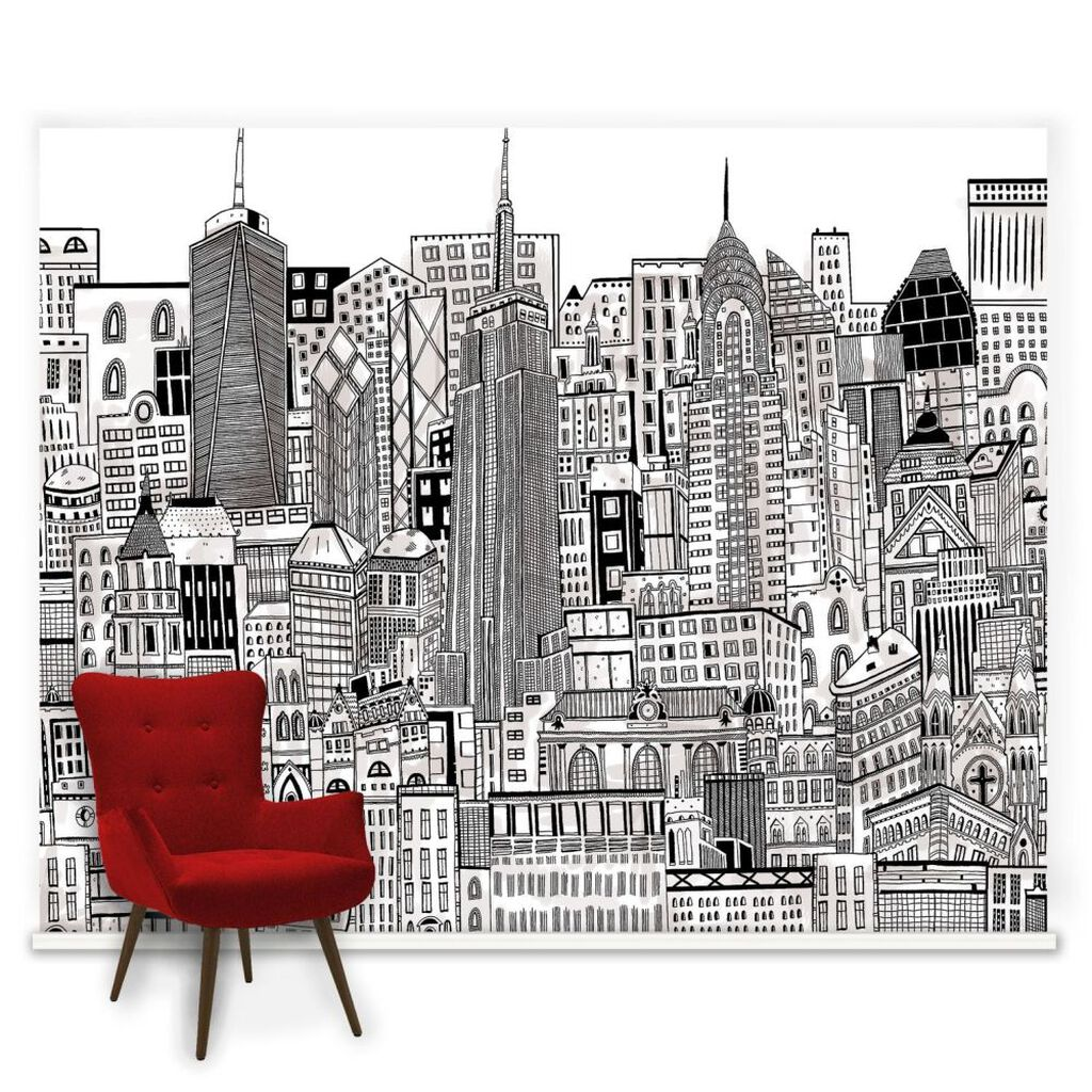 In The City Ready Made Mural, , large