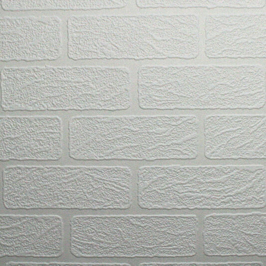 Brick Paintable Wallpaper, , large