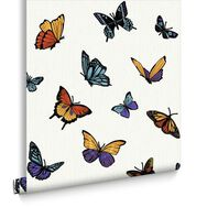 Flutterby Pearl Behang, , large