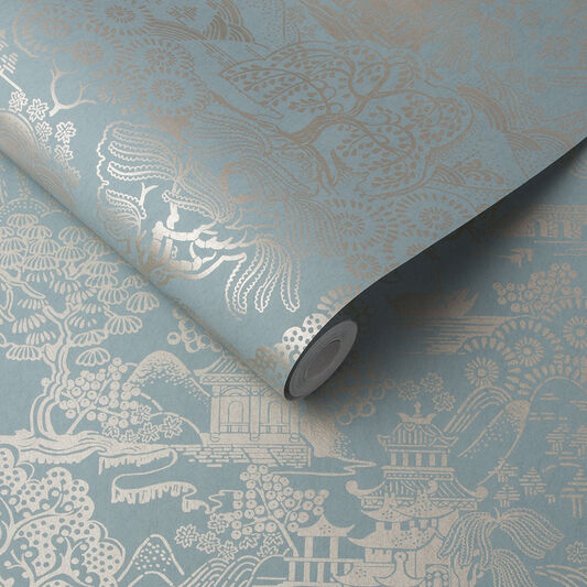 Basuto Duck Egg Wallpaper, , large