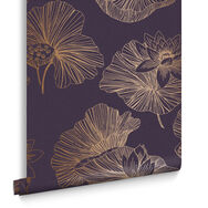 Papier Peint Lotus Prune, , large