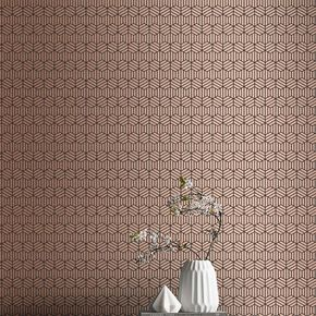 Echo Rose Gold Wallpaper, , large