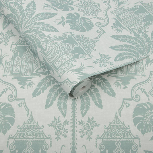 Imperial Green Wallpaper, , large