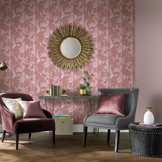 Ubud Blush Wallpaper, , large
