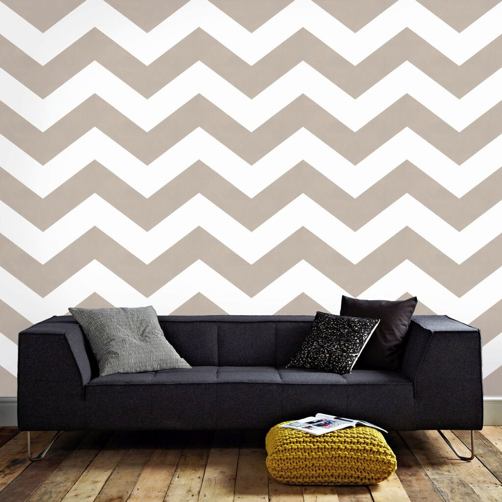 Chef Taupe Wallpaper, , large