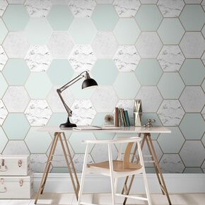 Earthen Mint Wallpaper, , large