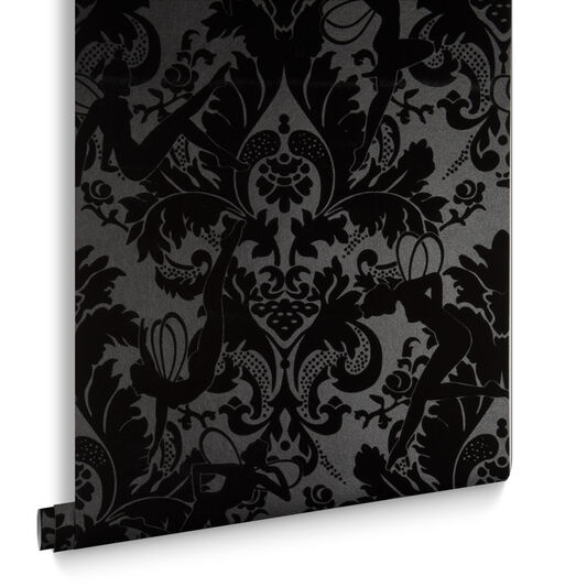 Forest muses black wallpaper graham brown for Home zone wallpaper birmingham