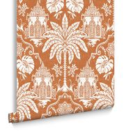 Papier Peint Imperial Orange, , large