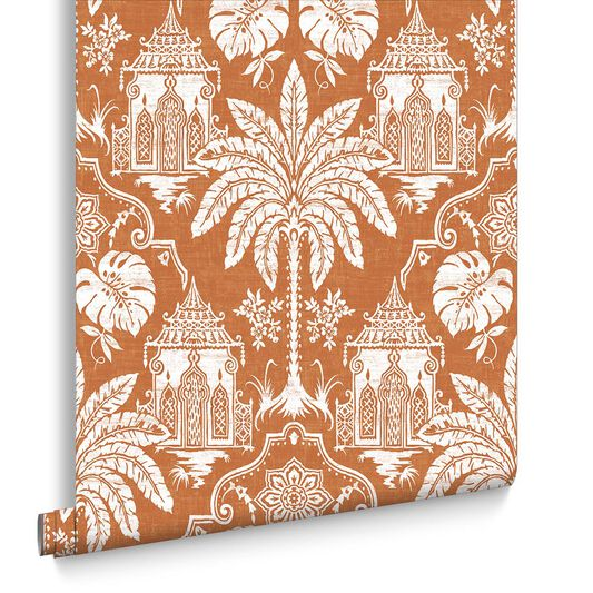 Imperial Orange Wallpaper, , large