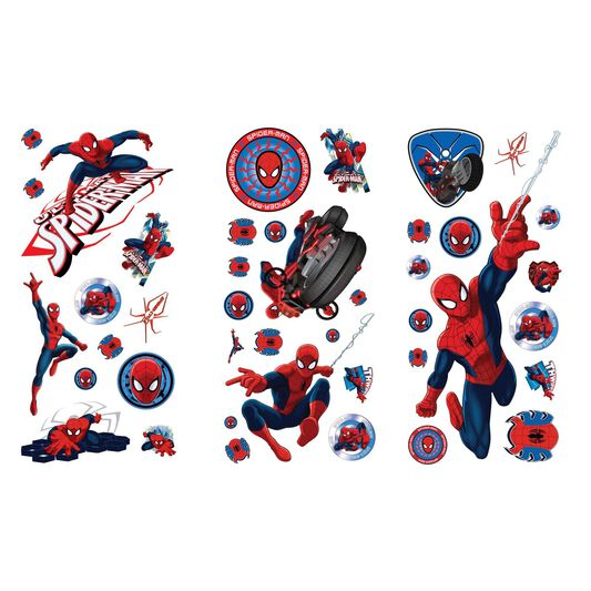 Muurstickers Kinderkamer Spiderman.Spiderman Kleine Muursticker Graham Brown