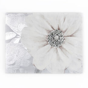 Bedruckte Leinwand Grey Bloom, , large