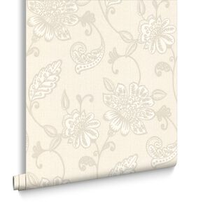 Juliet White Wallpaper, , large