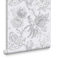 Chinoiserie Clouded Wallpaper, , large