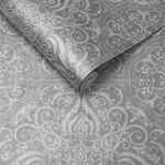 Souk Tile Pewter Wallpaper