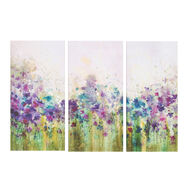 Watercolour Meadow Printed Canvas Wall Art , , large