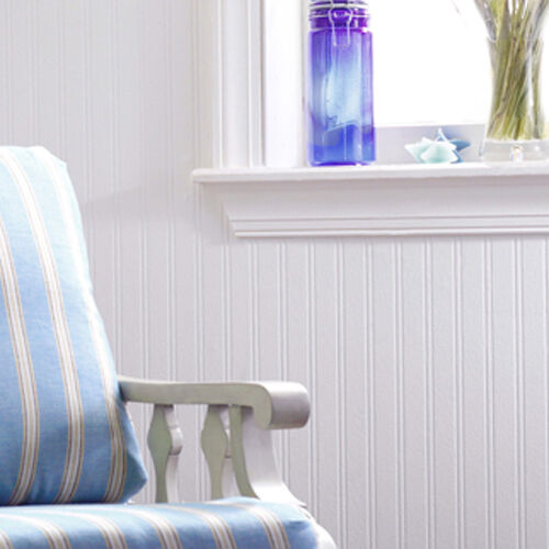 Beadboard Pre Pasted Wallpaper, ...