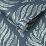 Botanica Teal Wallpaper
