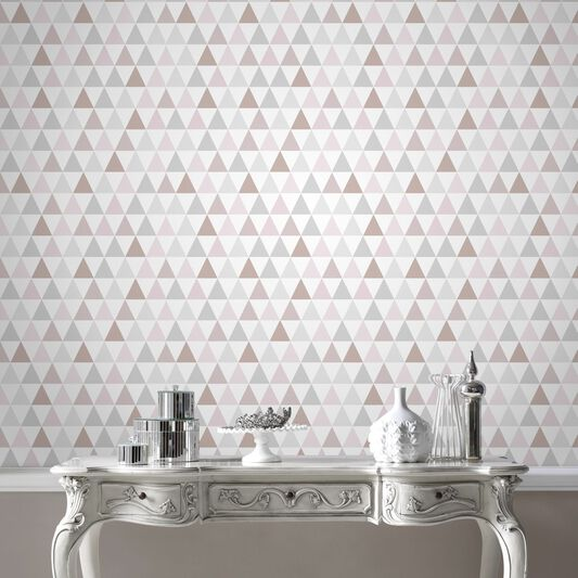 Tarek Rose Gold Wallpaper, , large