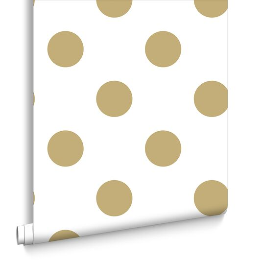 Dotty Tapete Gold, , large