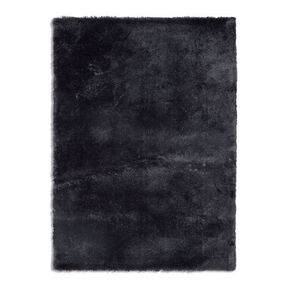 Small Drama Dark Grey Rug, , large
