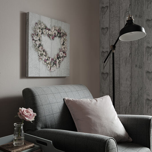 Floral Heart Wall Art, , large