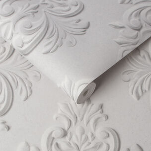 Stone Damask Wallpaper, , large