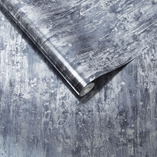 Oxidised Texture Petrol Wallpaper, , large