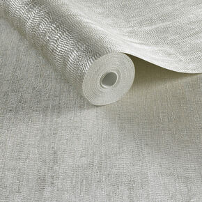Water Silk Plain Tapete Elfenbein, , large