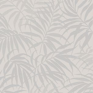 Tropic Beige and Silver Wallpaper, , large