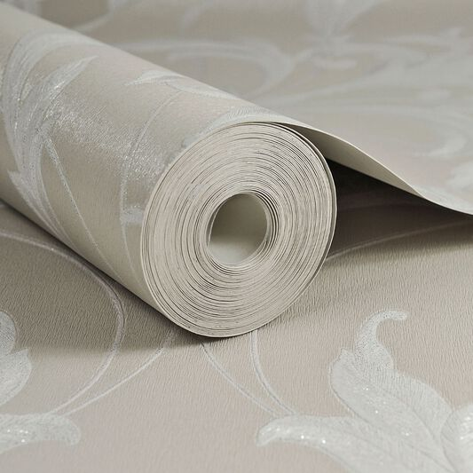 Oxford Taupe Wallpaper, , large