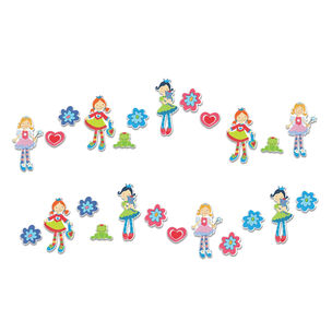 Mini Stickers en Mousse Zizazou - 24 pièces, , large