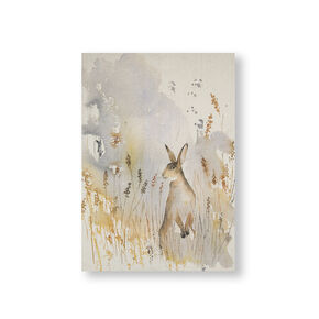 Déco Murale sur Toile en Cotton Meadow Hare, , large