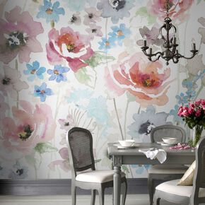 Couture Fleur Ready Made Mural, , large