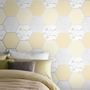 Earthen Yellow Wallpaper, , large