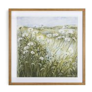 Daisies and Forget Me Nots Framed Print, , large