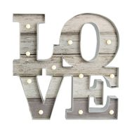 Lit Love  Metal Art, , large
