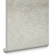 Twist Ivory and Gold Wallpaper, , large