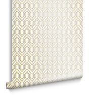 Echo Pearl and Gold Wallpaper, , large