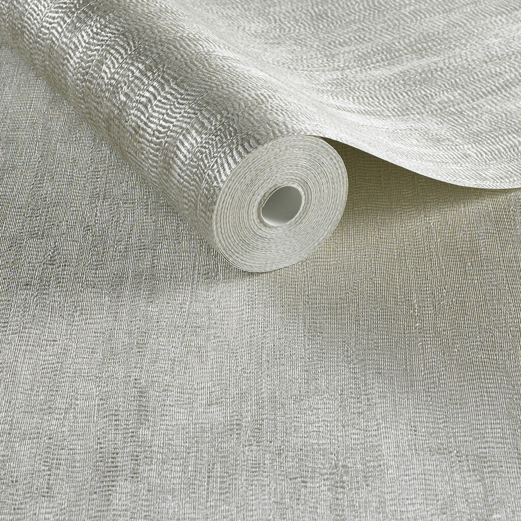 Papier Peint Water Silk Plain Ivoire, , large